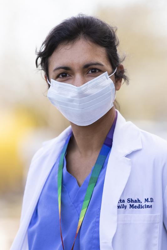 Healthcare Portrait Project - Dr. Shah