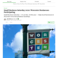 Small Business Saturday 2020_ Worcester Businesses Participating _ Worcester, MA Patch.pdf