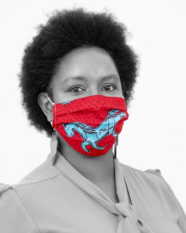 "I Am Worcester ""Mask-Up Gallery"" - Wanja Kiraguri"