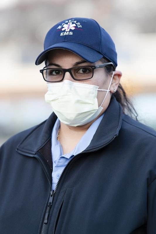Healthcare Portrait Project - Dashia, EMT