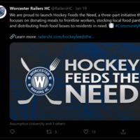 Hockey Feeds the Need Community Program