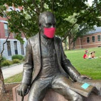 Clark's Sigmund Freud Statue Wears a Mask