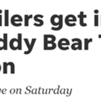 Teddy Bear Toss Community Event